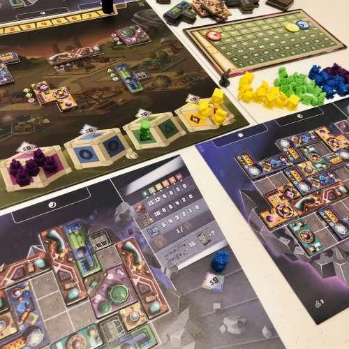 Cosmic Colonies - настолна игра