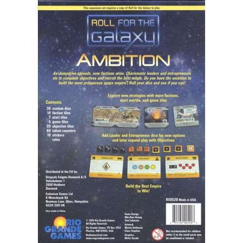 Roll for the Galaxy: Ambition - разширение за настолна игра