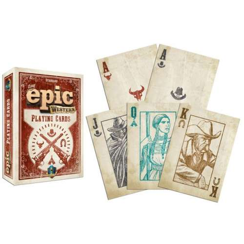 Tiny Epic Western Playing Cards - карти за игра