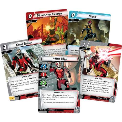 Marvel Champions: The Card Game – Ant-Man Hero Pack - разширение за настолна игра