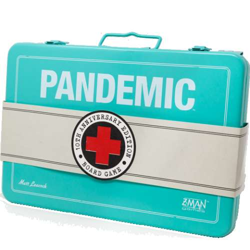 Pandemic 10th Anniversary Edition - настолна игра