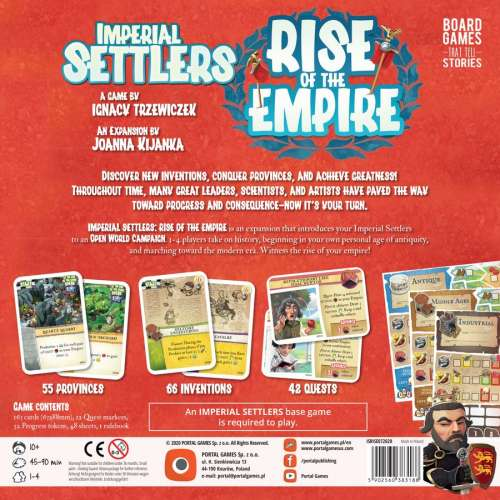 Imperial Settlers: Rise of the Empire - разширение за настолна игра