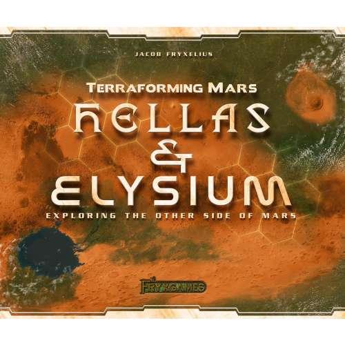 Terraforming Mars: Hellas & Elysium - разширение за настолна игра
