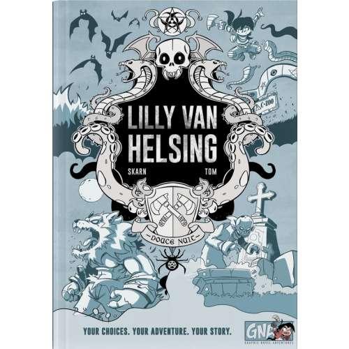 Lilly Van Helsing - книга-игра