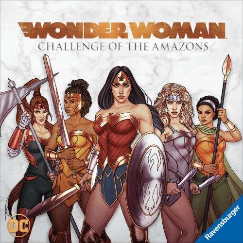 Wonder Woman: Challenge of the Amazons - настолна игра