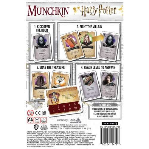 Munchkin Harry Potter - настолна игра