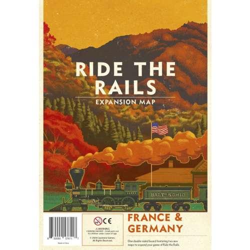 Ride the Rails: France & Germany - разширение за настолна игра