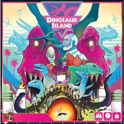 Dinosaur Island - настолна игра