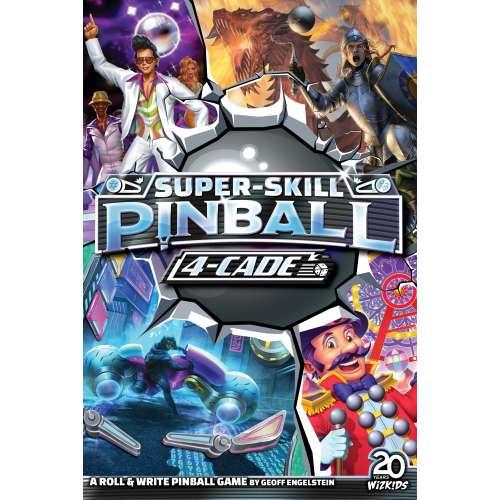 Super-Skill Pinball: 4-Cade - настолна игра