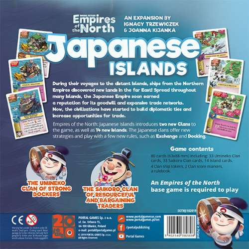 Imperial Settlers: Empires of the North – Japanese Islands - разширение за настолна игра