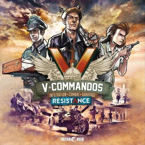 V-Commandos: Résistance - разширение за настолна игра