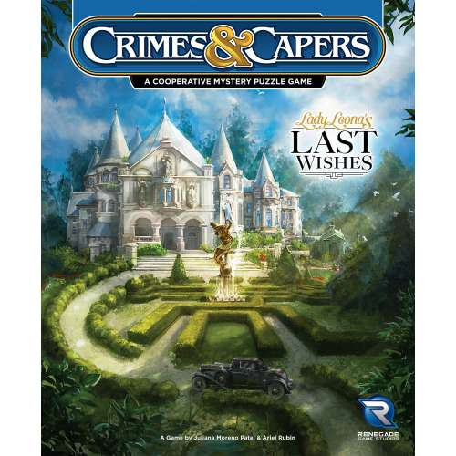 Crimes & Capers: Lady Leona's Last Wishes - настолна игра