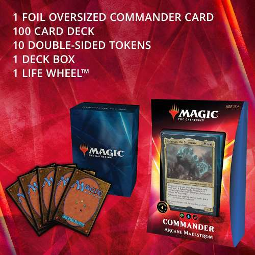Magic: The Gathering - Ikoria: Lair of Behemoths Commander Deck - Arcane Maelstrom