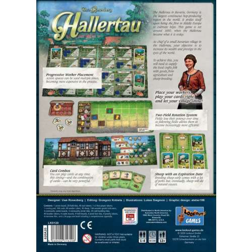 Hallertau - настолна игра