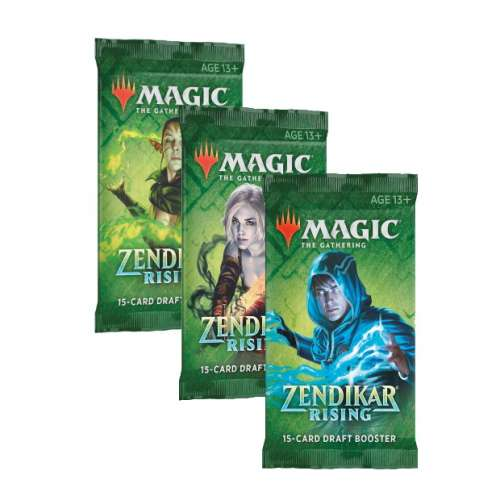 Magic: The Gathering - Zendikar Rising Draft Booster