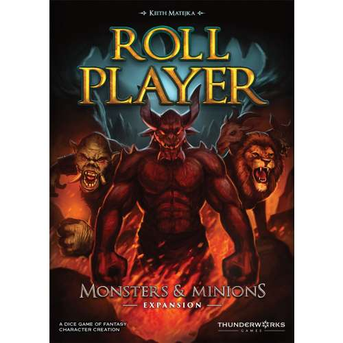 Roll Player: Monsters & Minions - разширение за настолна игра
