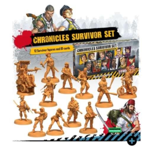 Zombicide (2nd Edition): Chronicles Survivor Set - разширение за настолна игра