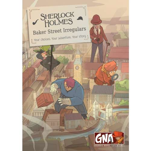 Sherlock Holmes: Baker Street Irregulars - книга-игра