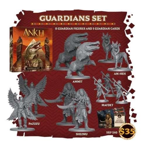Ankh: Gods of Egypt – Guardians Set - разширение за настолна игра