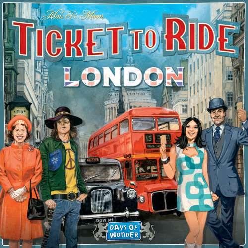 Ticket to Ride: London - настолна игра