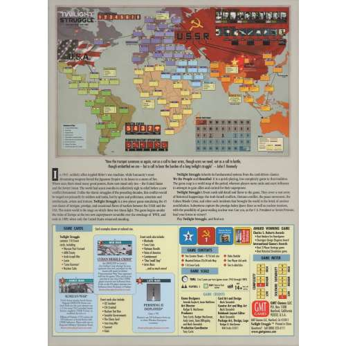 Twilight Struggle (Deluxe Edition, 7th Printing) - настолна игра