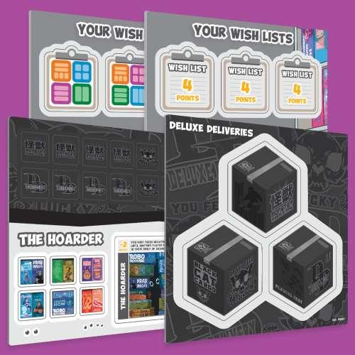 Shelfie Stacker: Deluxe Delivery Expansion - разширение за настолна игра