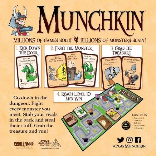 Munchkin (Deluxe Edition) - настолна игра