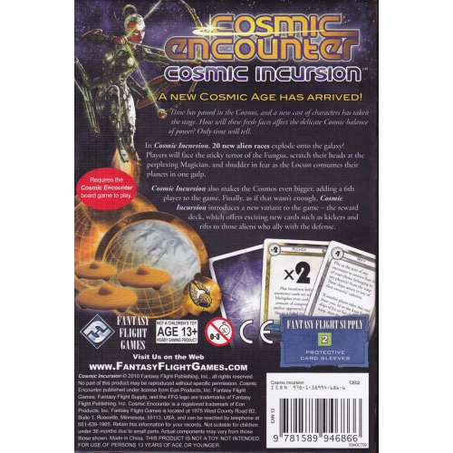 Cosmic Encounter: Cosmic Incursion - разширение за настолна игра