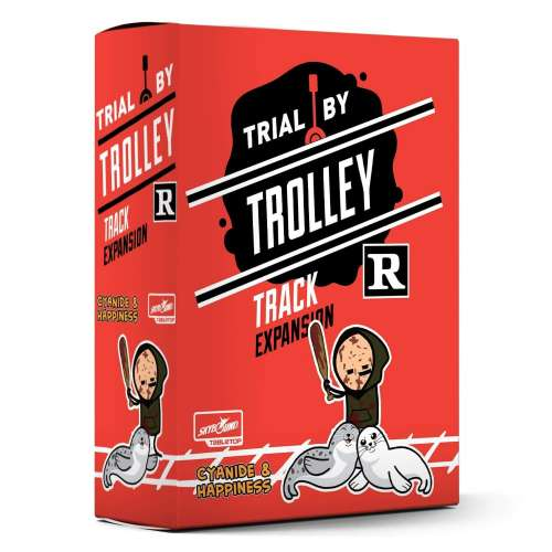 Trial by Trolley: R-Rated Track Expansion - разширение за настолна игра