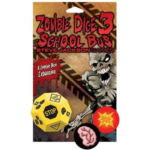 Zombie Dice 3: School Bus - разширение за настолна игра