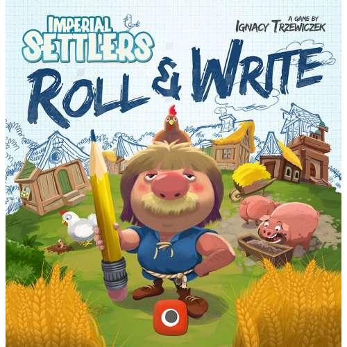 Imperial Settlers: Roll & Write - настолна игра