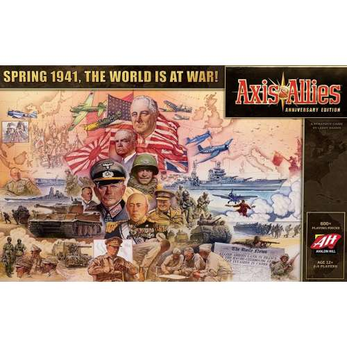 Axis & Allies (Anniversary Edition) - настолна игра