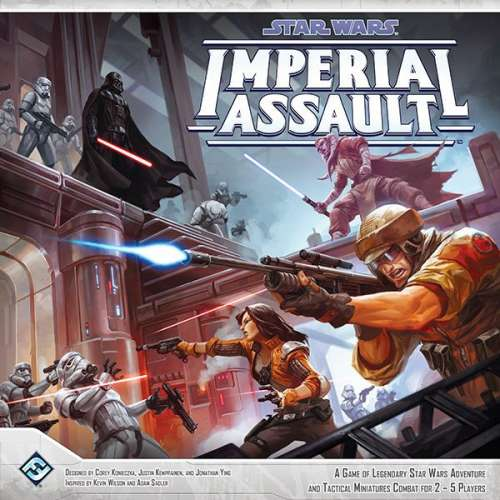 Star Wars: Imperial Assault - настолна игра