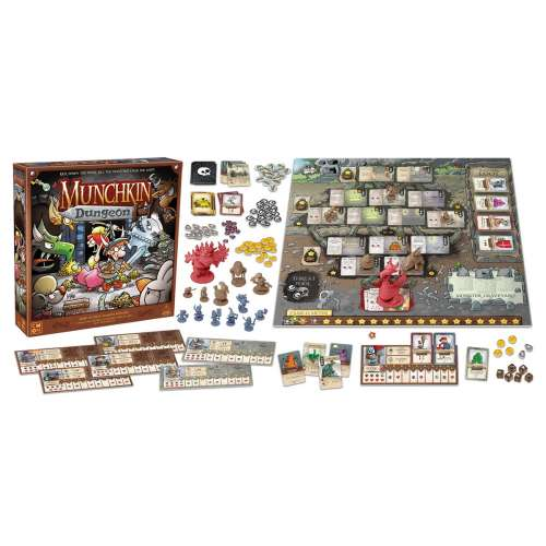 Munchkin Dungeon - настолна игра