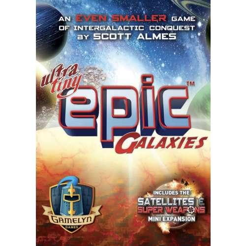 Ultra-Tiny Epic Galaxies - настолна игра