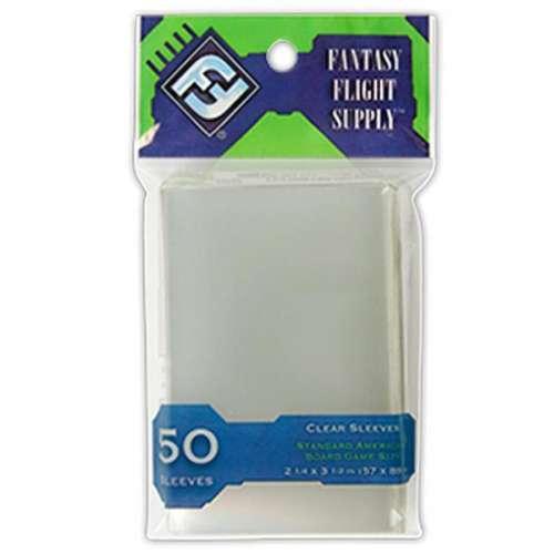 FFG Standard American Board Game Sleeves - 57 mm х 89 mm
