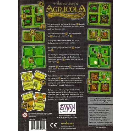 Agricola - настолна игра