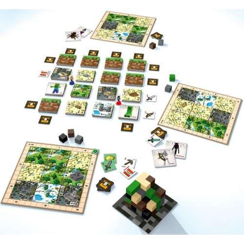 Minecraft: Builders & Biomes - настолна игра