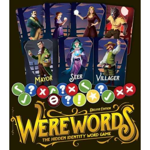 Werewords Deluxe Edition - настолна игра