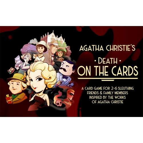 Agatha Christie: Death on the Cards - настолна игра