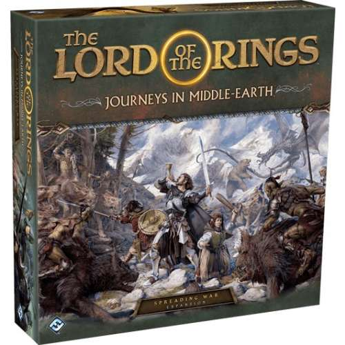 The Lord of the Rings: Journeys in Middle-Earth – Spreading War Expansion - разширение за настолна игра