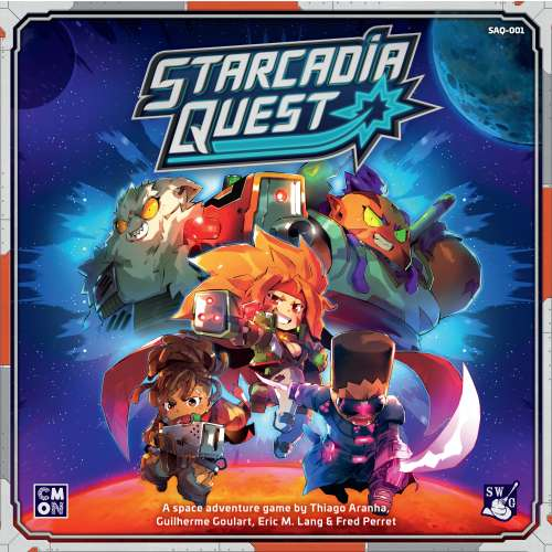 Starcadia Quest - настолна игра