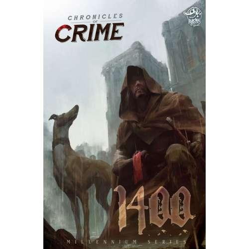 Chronicles of Crime: 1400 (+ Promo Dog Meeple) - настолна игра