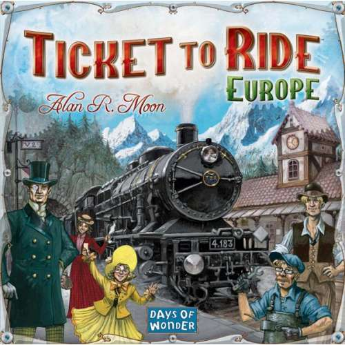 Ticket to Ride: Европа - настолна игра