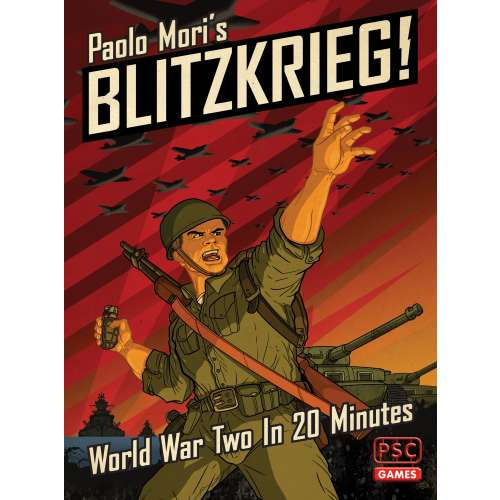 Blitzkrieg!: World War Two in 20 Minutes - настолна игра