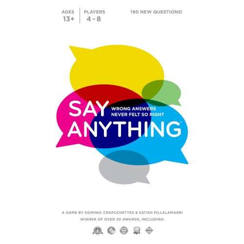Say Anything (10th Anniversary Edition) - настолна игра
