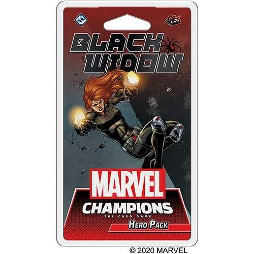 Marvel Champions: The Card Game – Black Widow Hero Pack - разширение за настолна игра