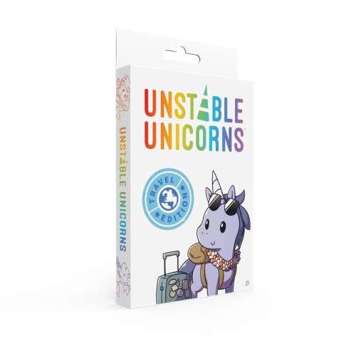 Unstable Unicorns: Travel Edition - настолна игра