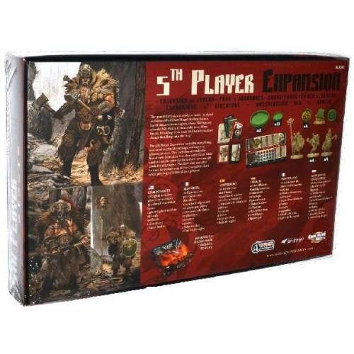 Blood Rage: 5th Player Expansion - разширение за настолна игра
