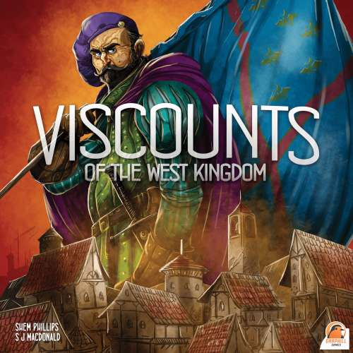 Viscounts of the West Kingdom - настолна игра